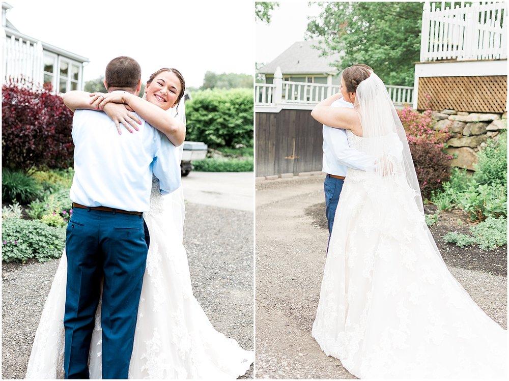 pre ceremony photos by Alyssa Parker Photography