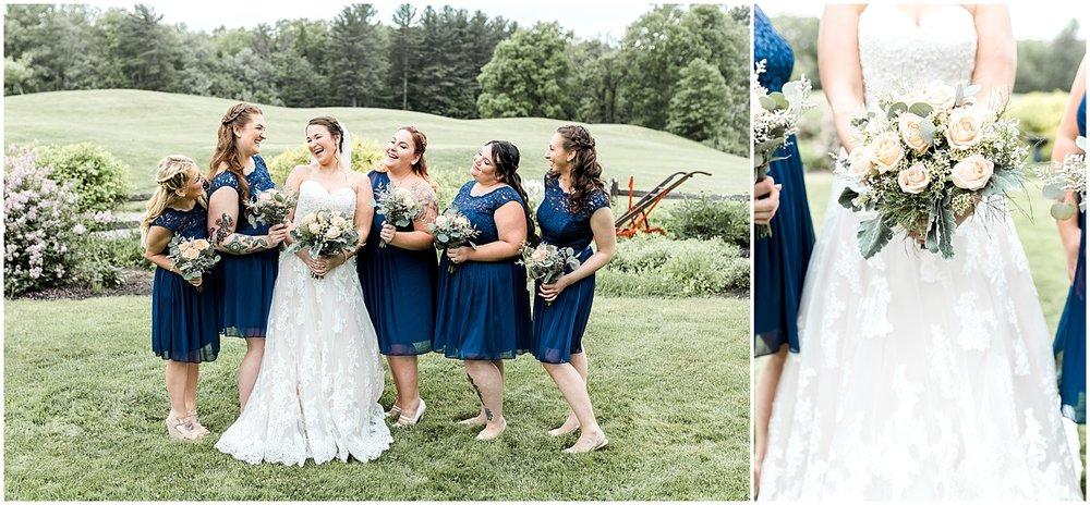 Bridesmaid formal portrait by Alyssa Parker Photography