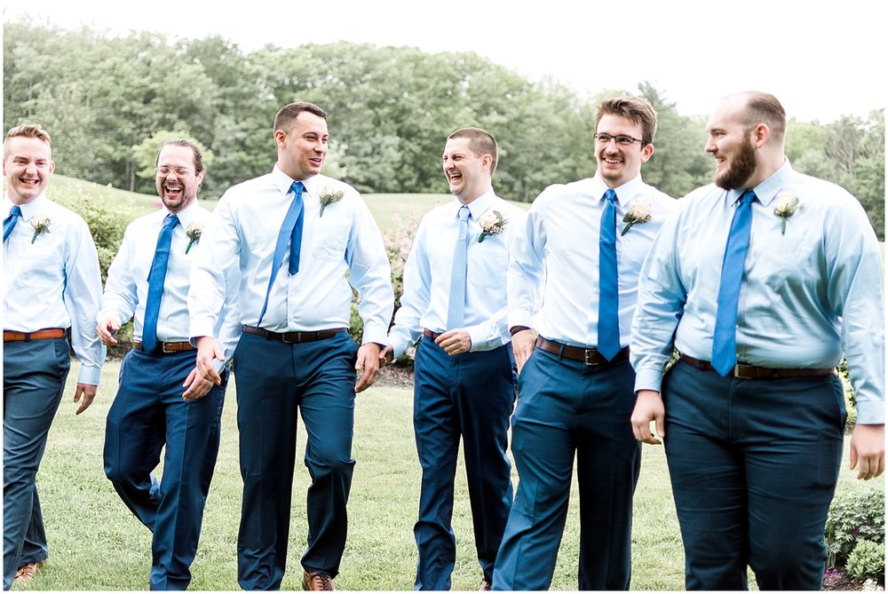 Groom with groomsmen photography by Alyssa Parker Photography