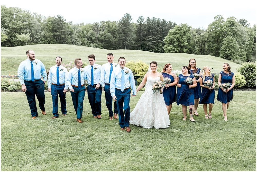 Wedding party by Alyssa Parker Photography