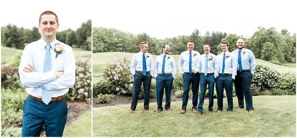 Semi formal groomsmen attire by Alyssa Parker Photography