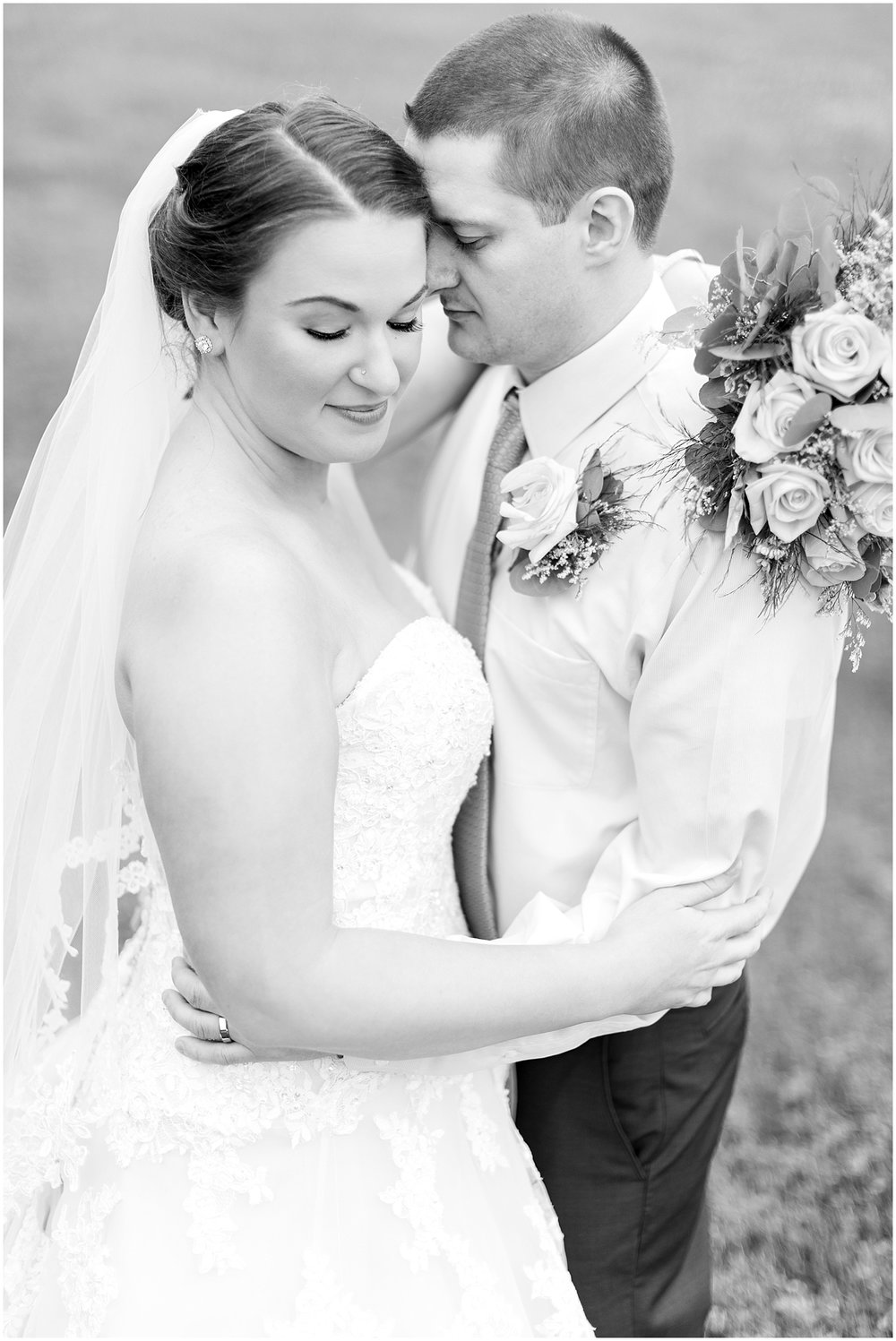 Romantic Bride and Groom Photo by Alyssa Parker Photography
