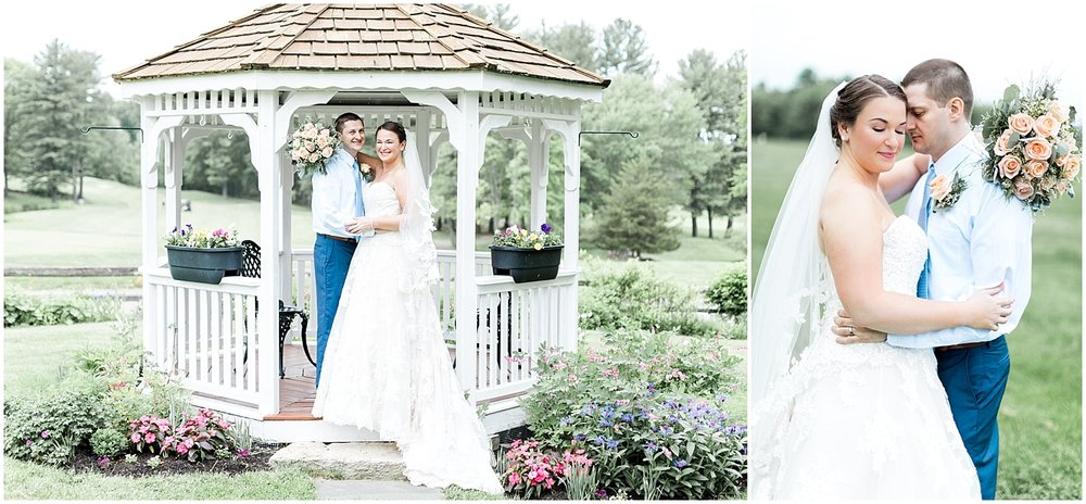 Blissful meadows gold club wedding by Alyssa Parker Photography