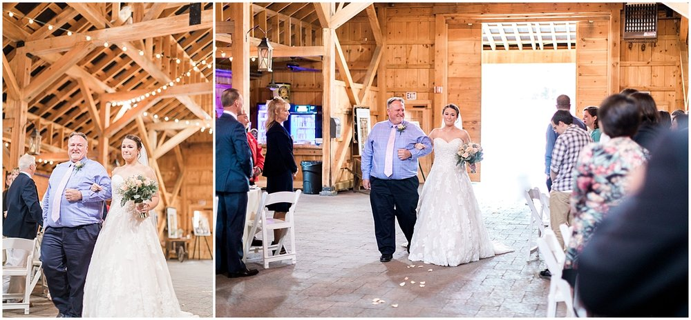 Barn Ceremony at Blissful meadows by Alyssa Parker Photography