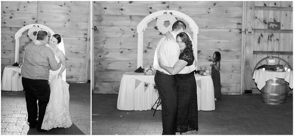 Parent dances by Alyssa Parker Photography