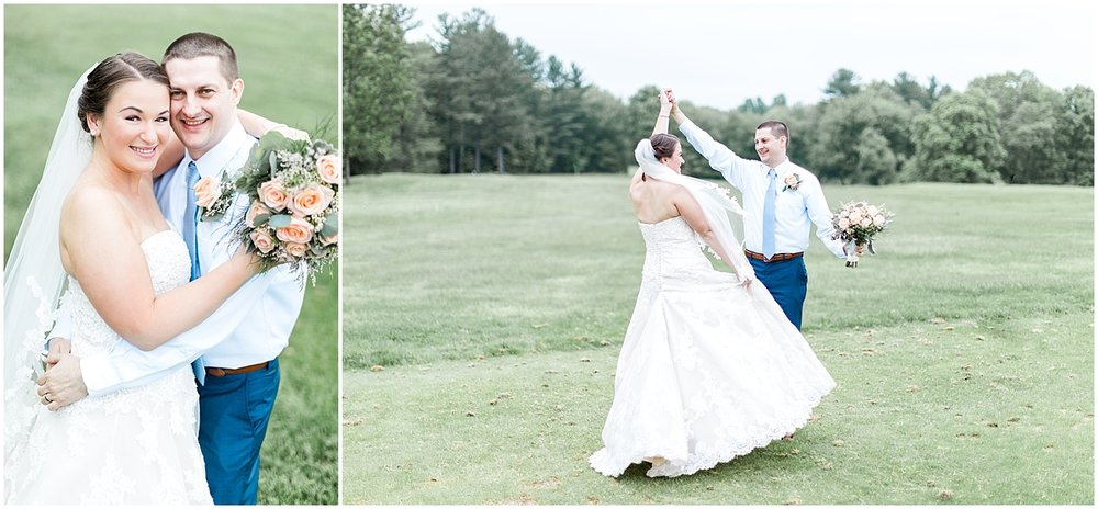 Traditional bride and groom portrait by Alyssa Parker Photography