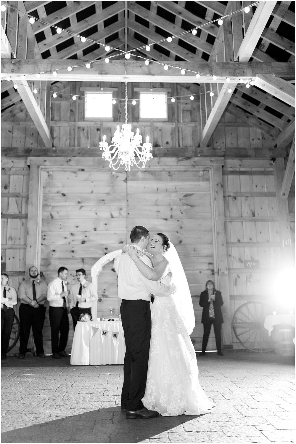 Bride and grooms first dance by Alyssa Parker Photography