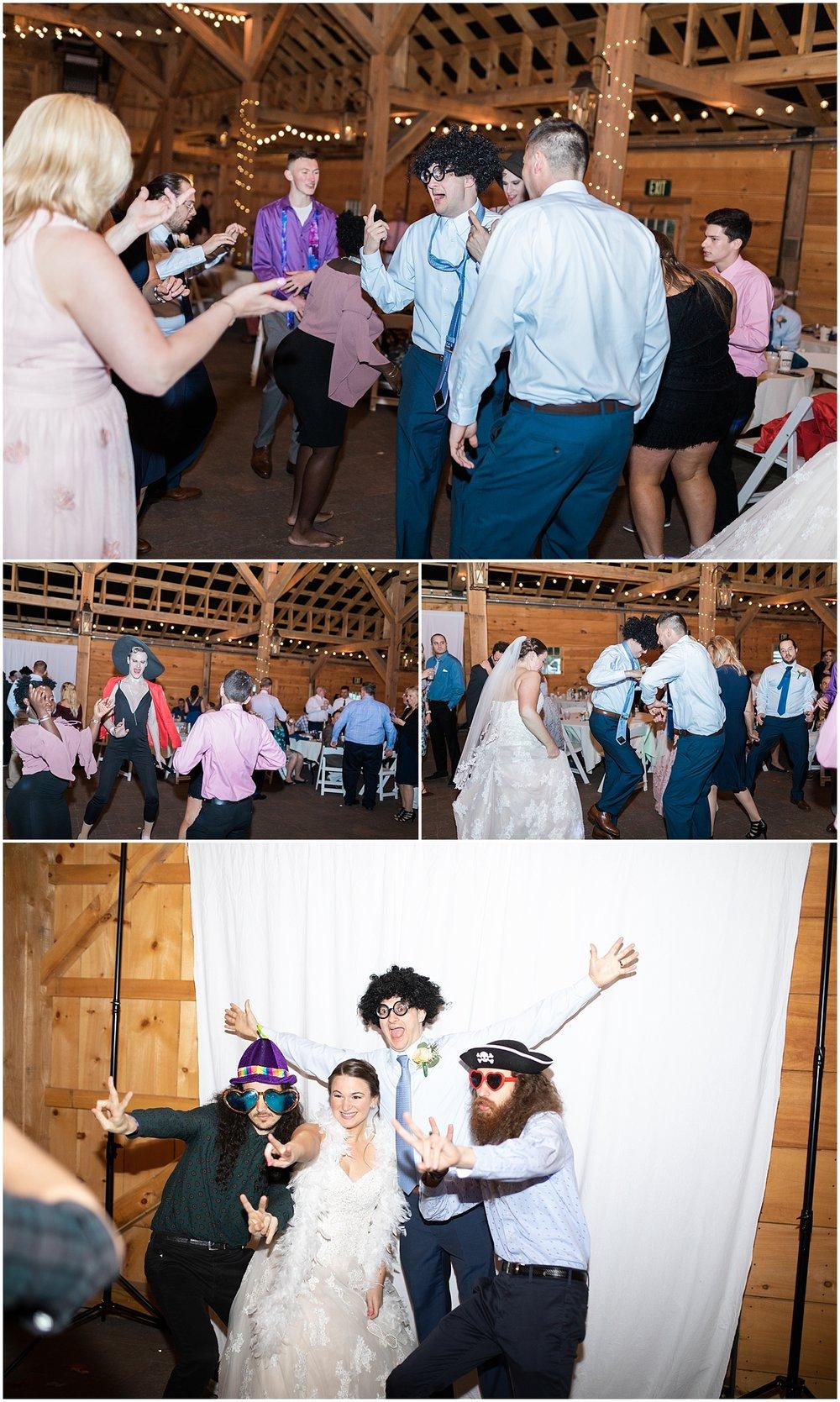 Fun reception dance photos by alyssa parker photogrpahy
