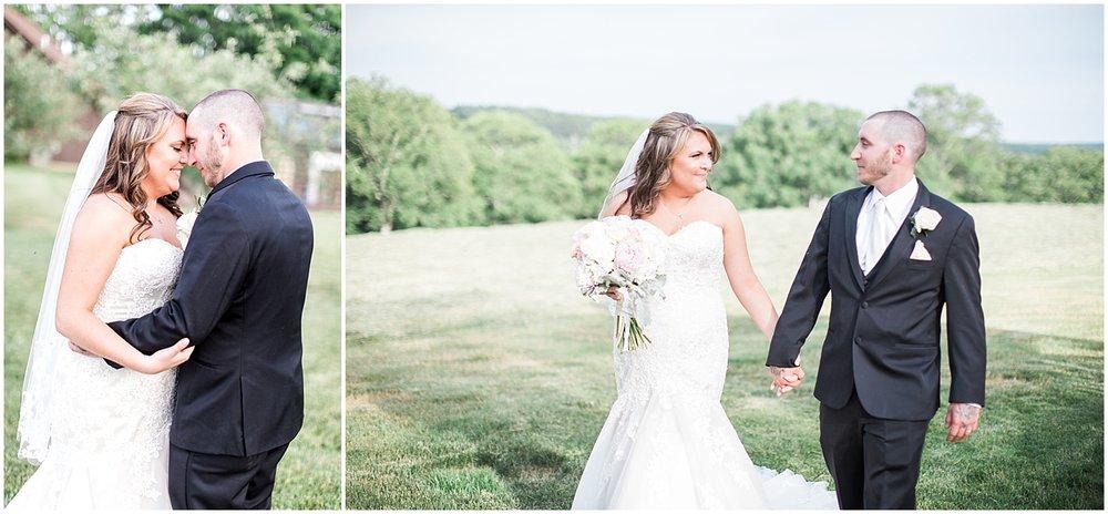 Bride and groom Alyssa Parker Photography