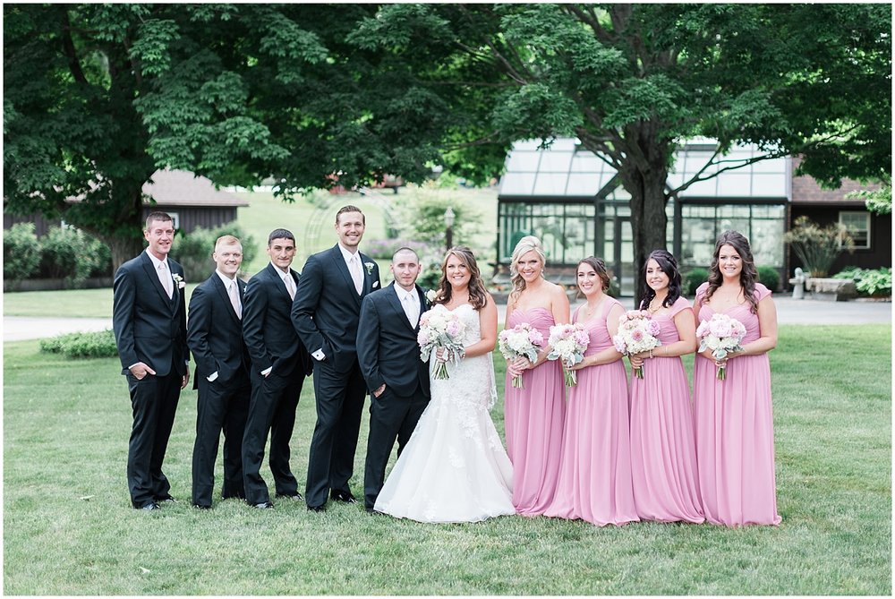 bridal party of four