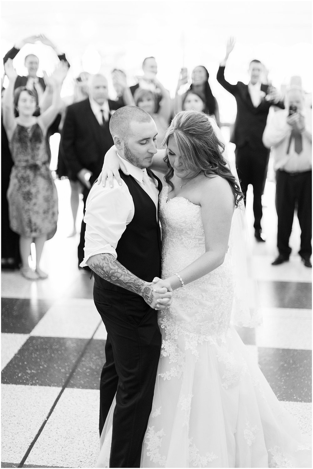 Bride and Groom First Dance by Alyssa Parker Photography