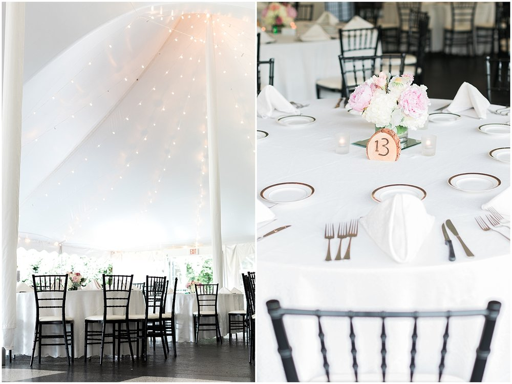 Beautiful Tent Reception by Alyssa Parker Photography
