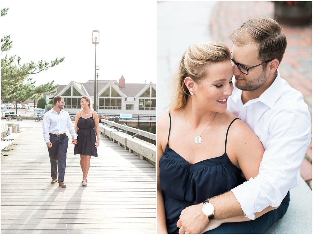 Boardwalk engagement photos by Alyssa parker photography