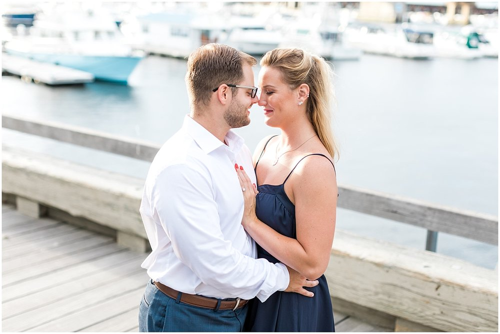 golden hour engagement by Alyssa parker photography