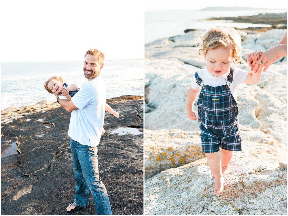 Father son portrait by Alyssa Parker Photography