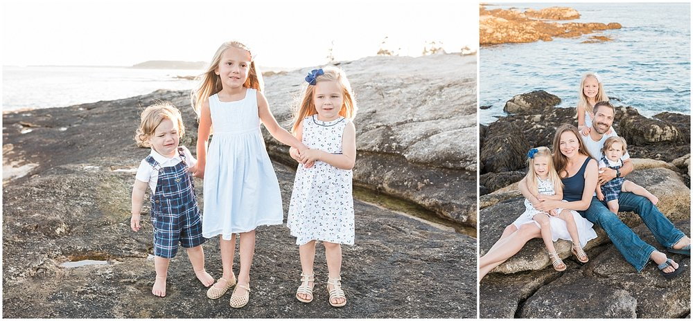 New England Family photo session by Alyssa Parker Photography