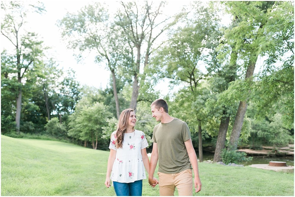 Wisconsin Dells Engagement Session by Alyssa Parker Photography