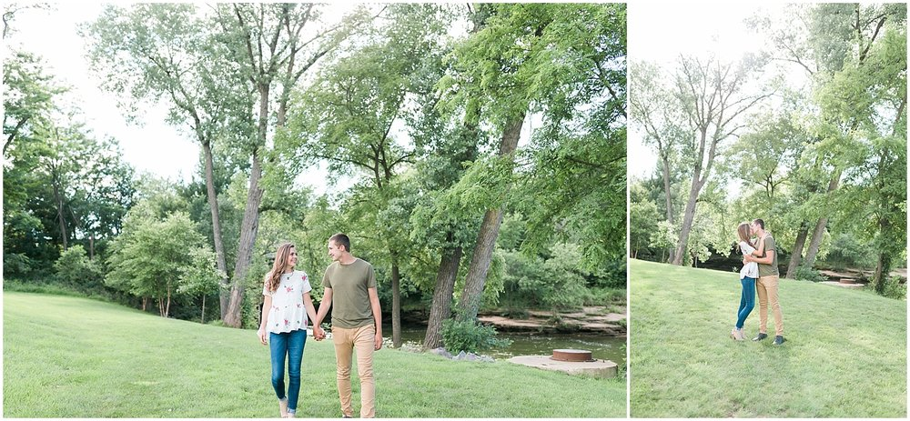 Riverfront engagement session by Alyssa Parker Photography