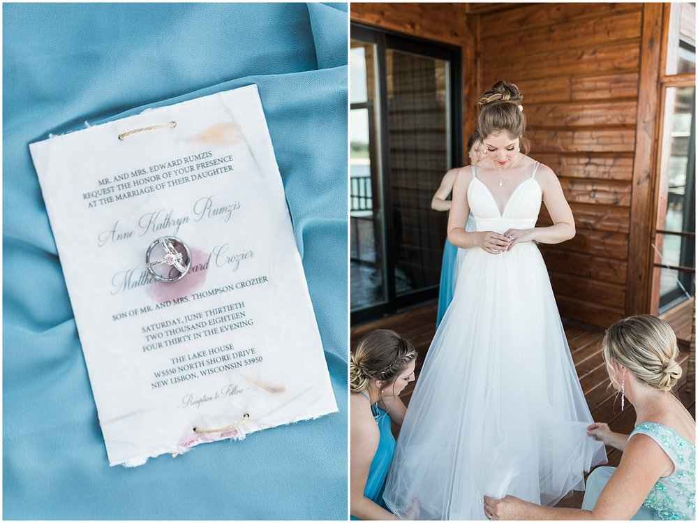 Dusty Blue Wedding colors by Alyssa Parker Photography