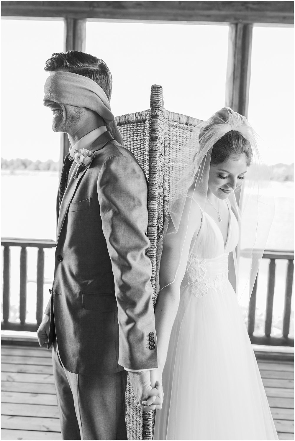 prayer before ceremony by Alyssa Parker Photography