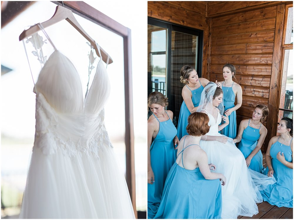 Tulle and Lace wedding gown photo by Alyssa Parker Photography