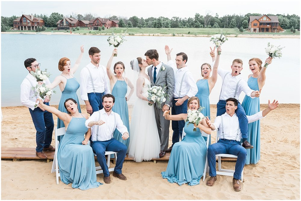 Wedding party goals by Alyssa Parker Photography