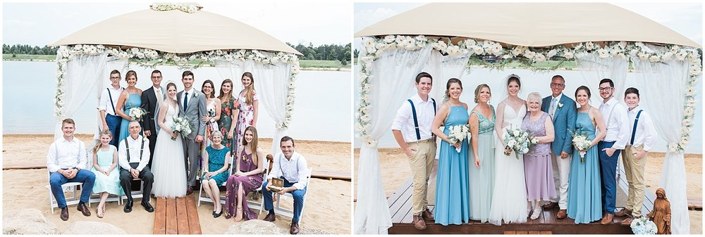 Large family formals by Alyssa Parker Photography