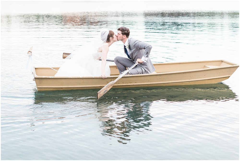 lake wedding portraits by Alyssa Parker Photography