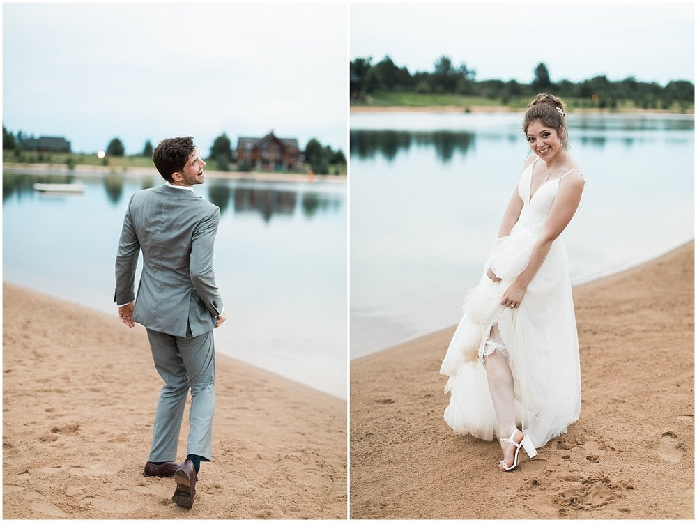 Cute bride and groom photos by Alyssa Parker Photography