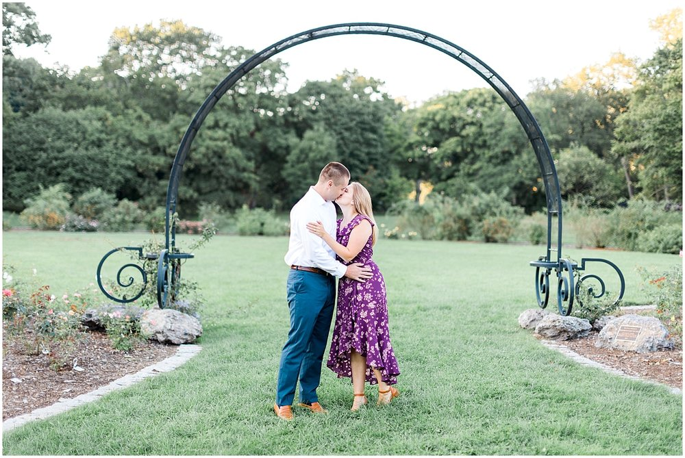 Arnold Arboretum Boston MA Engagement session by Alyssa Parker Photography