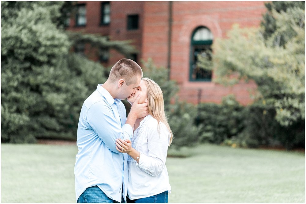 engagement session at Arnold Arboretum of Harvard University by Alyssa Parker Photography