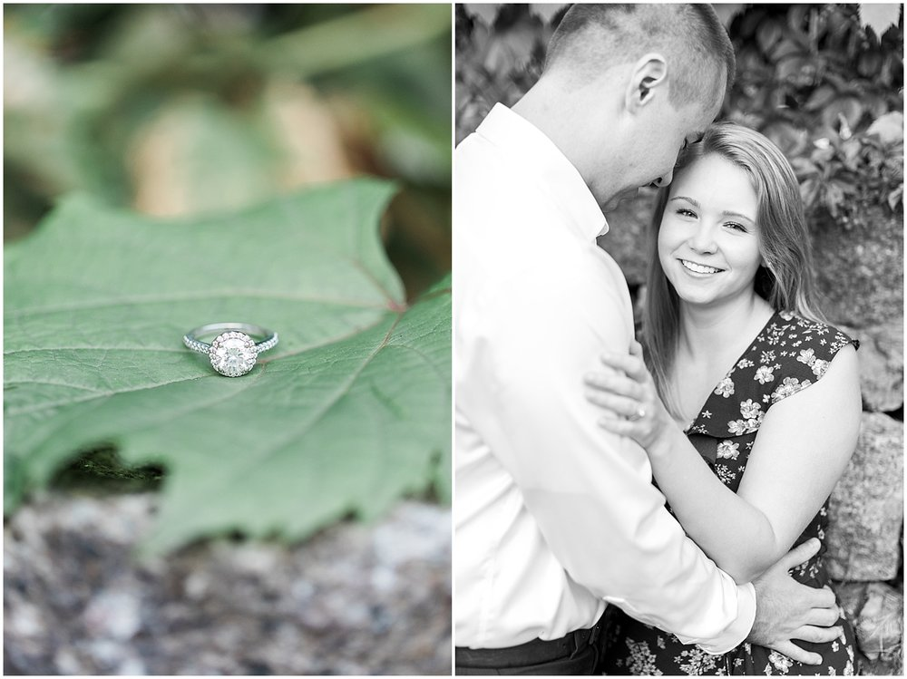 Engagement ring photos by Alyssa Parker Photography