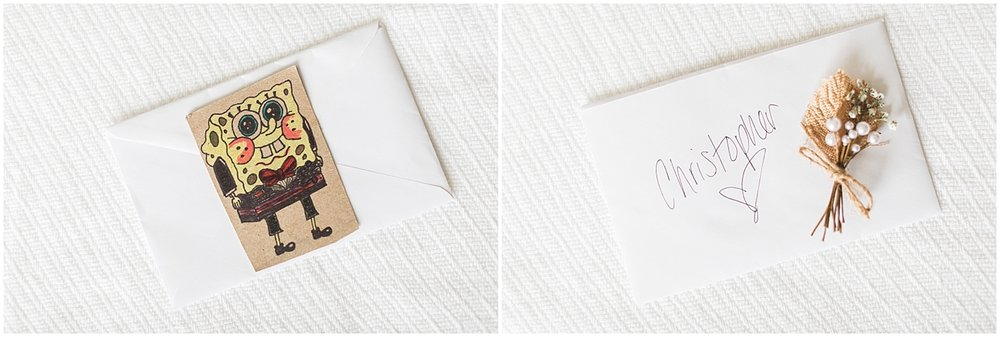 Should you write letters to your groom Photo by Alyssa Parker Photography
