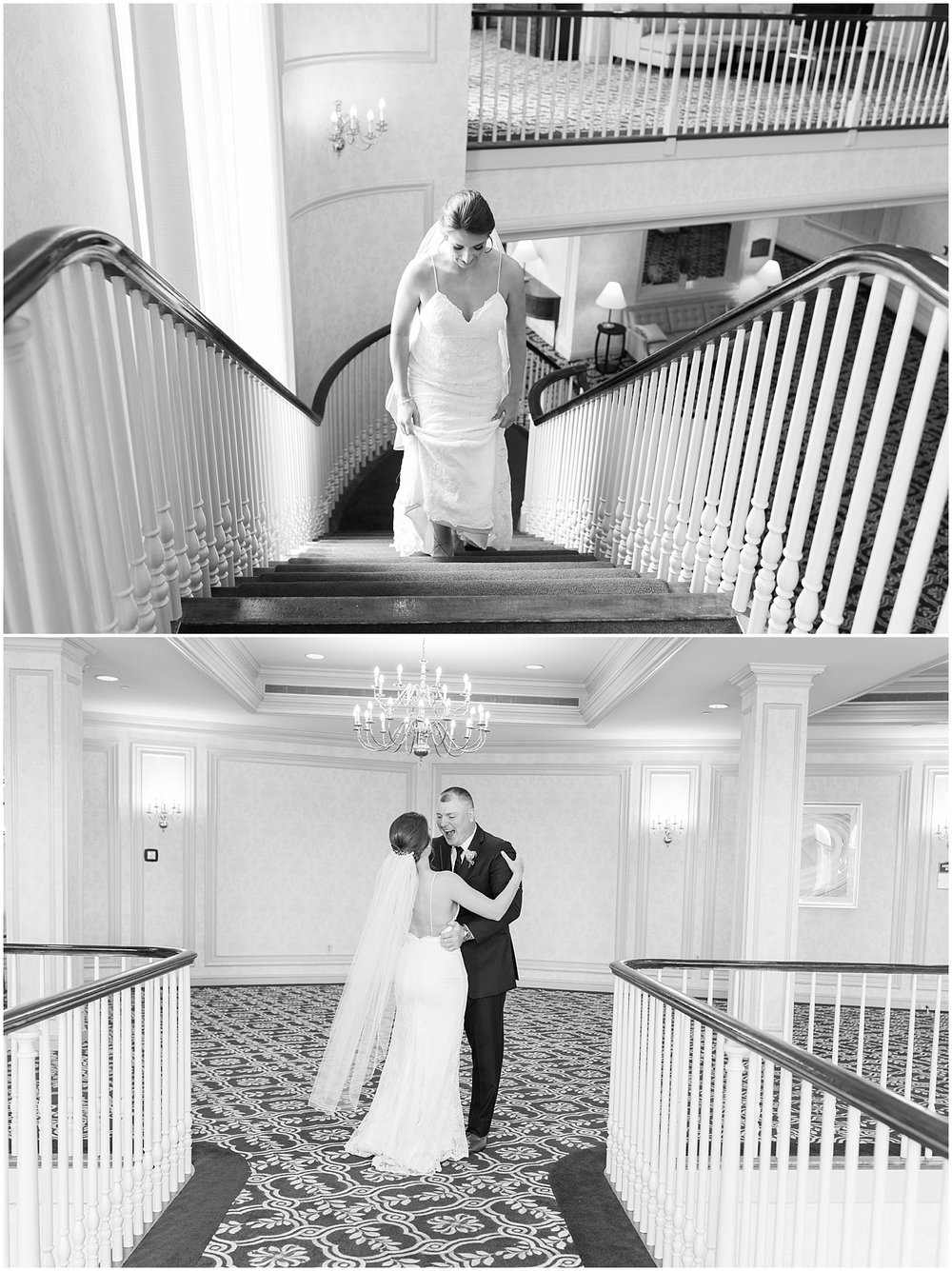 The most romantic indoor first look Photo by Alyssa Parker Photography