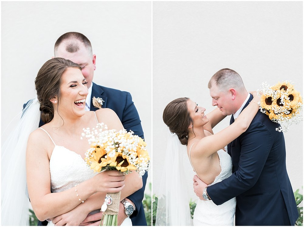 candid bride and groom photos by Alyssa Parker Photography