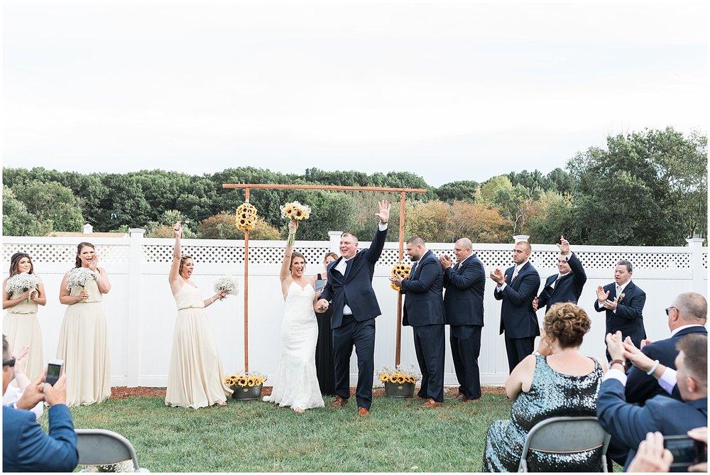 ceremony celebration photo by Alyssa Parker Photography