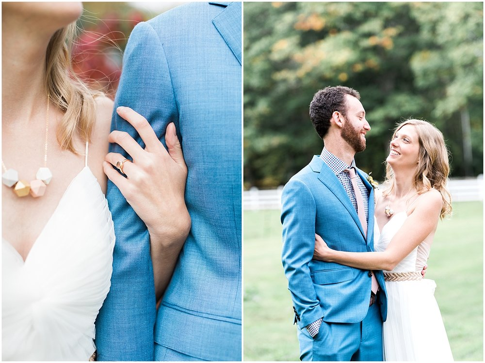 Fall Bride and Groom Portraits by Alyssa Parker Photography