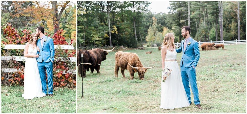 Farm Wedding Portraits by Alyssa Parker Photography