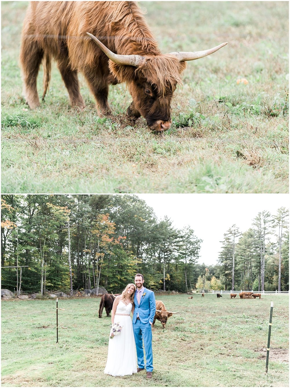 Bride and Groom Tumbledown Farm Photos by Alyssa Parker Photography
