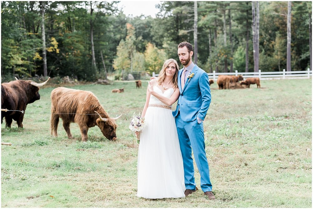 Funny Bride and groom portraits by Alyssa Parker Photography