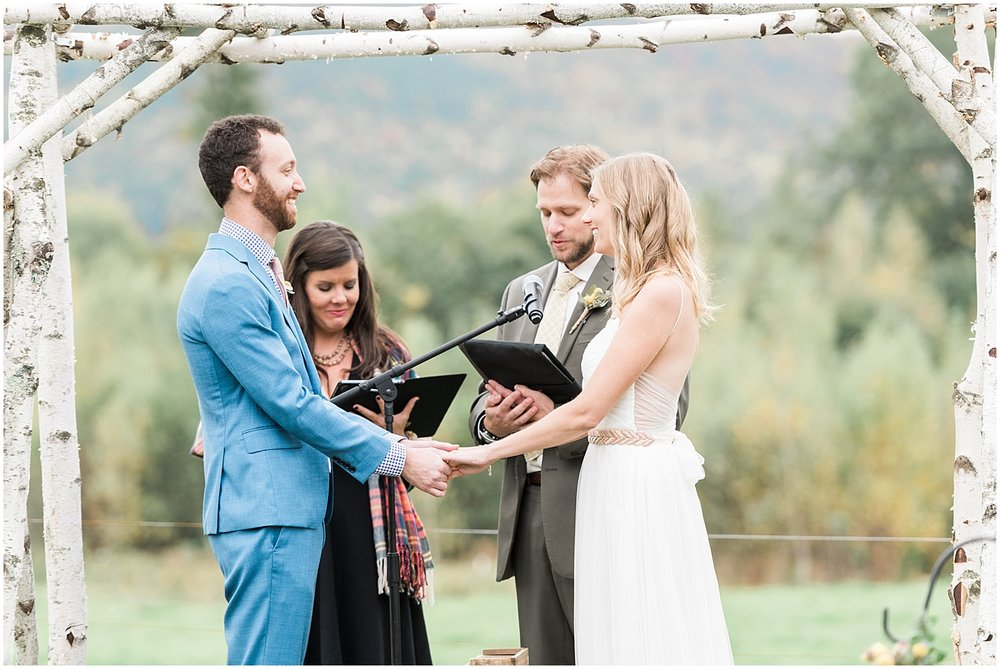Best Friends Officiating Ceremony by Alyssa Parker Photography