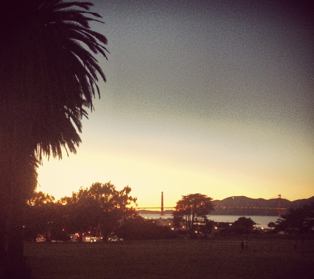 View from Fort Mason Green