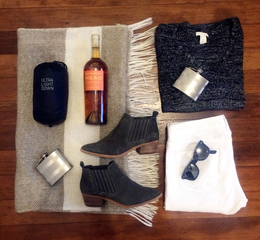 San Francisco fall outfit