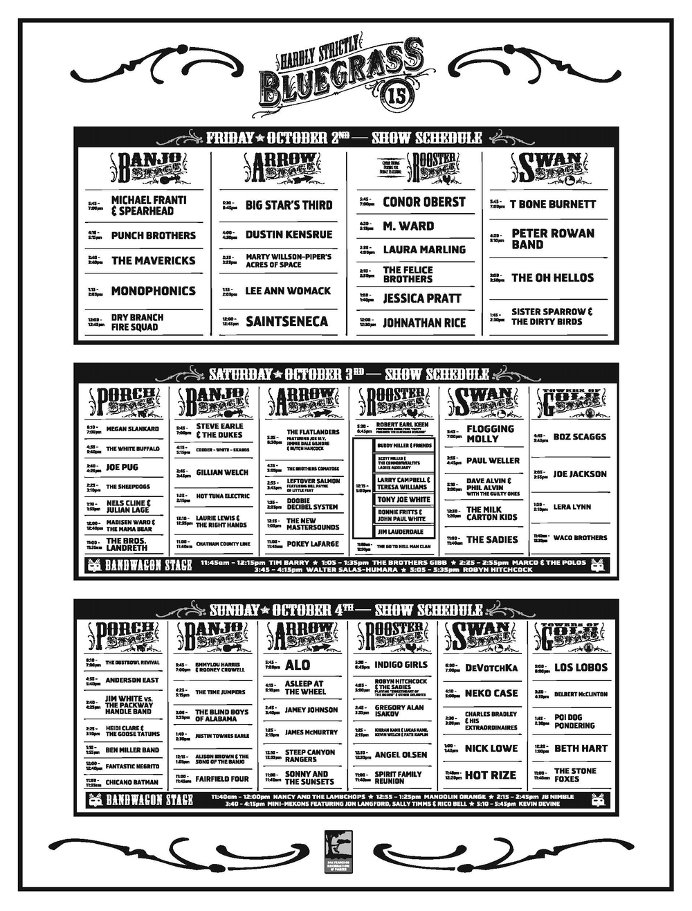 HSB schedule 2015