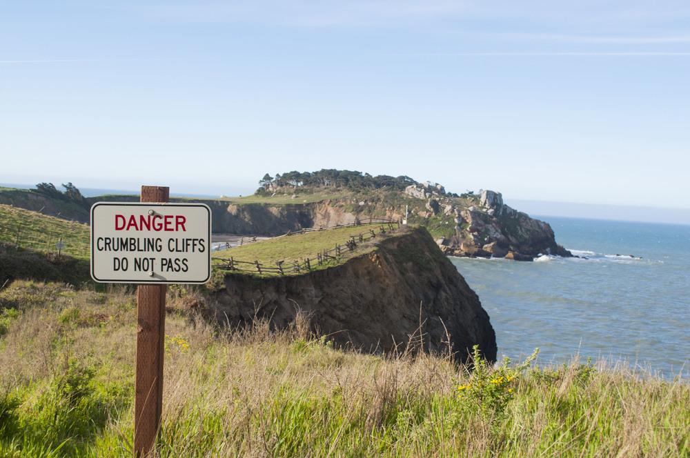 danger keep out california coast