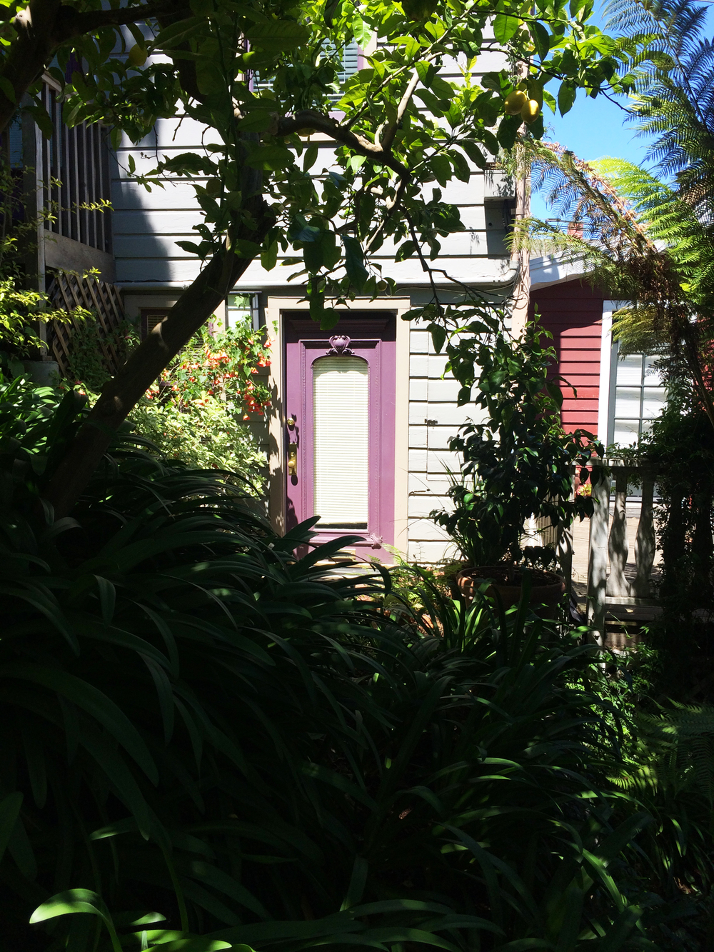 purple door inspiration