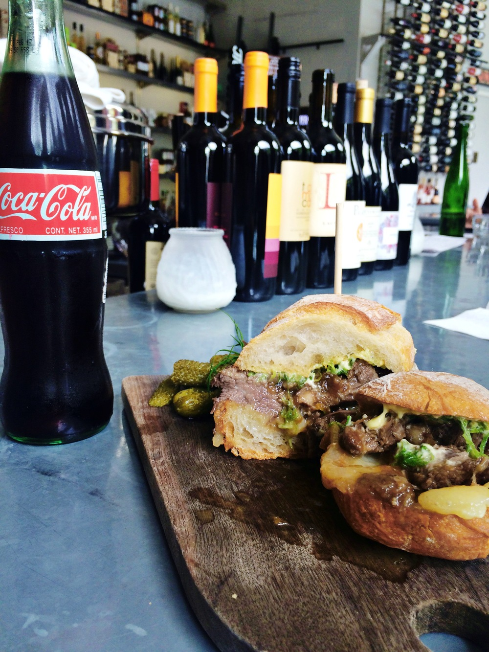 #shareacoke with a sandwich lunch