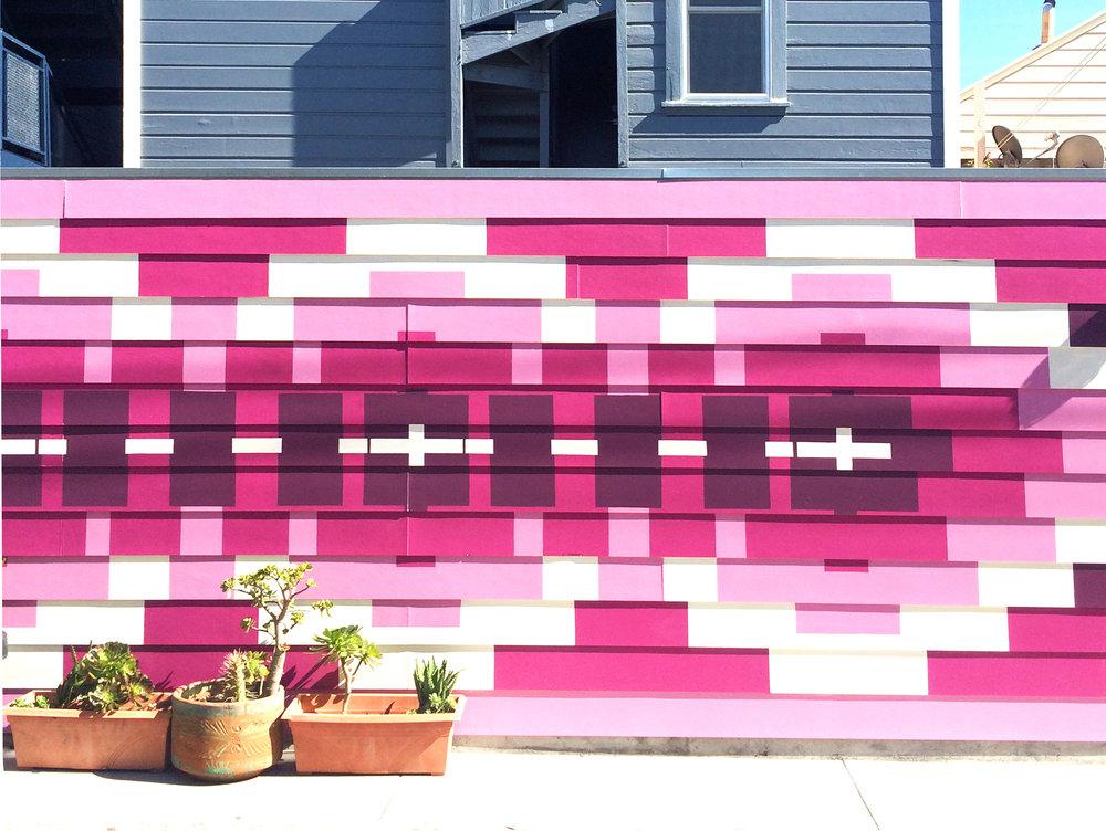 SF Street Art Pink