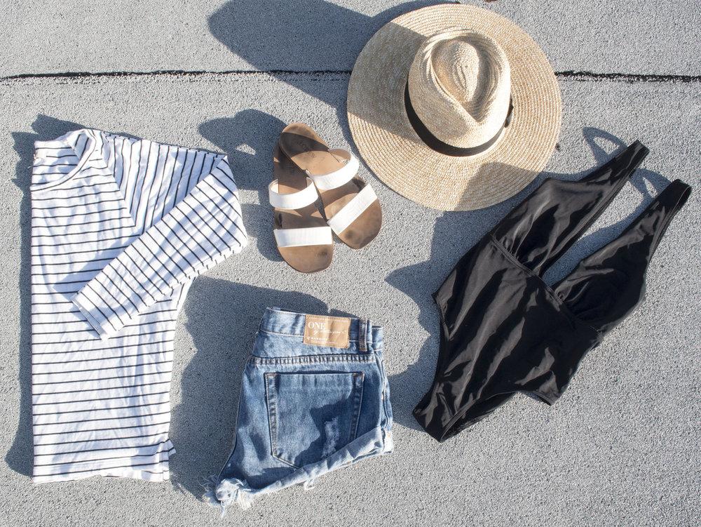 one teaspoon beach outfit san diego summer