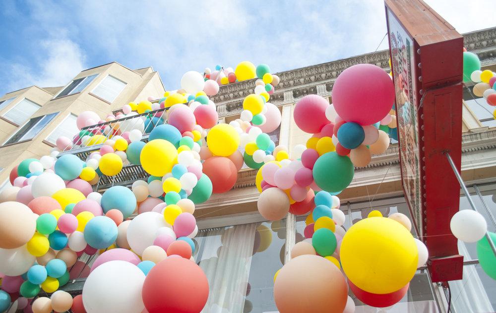 balloon art installation san francisco